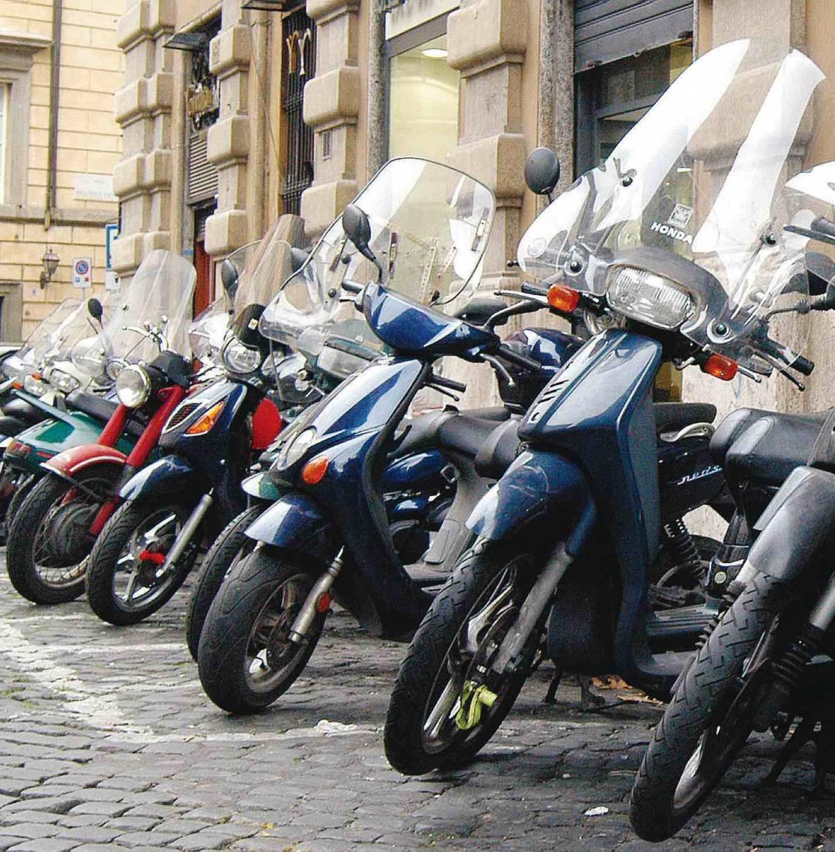 Contributi fino a 2mila euro per chi cambia il motorino