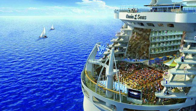 A Genova la nave più grande del mondo