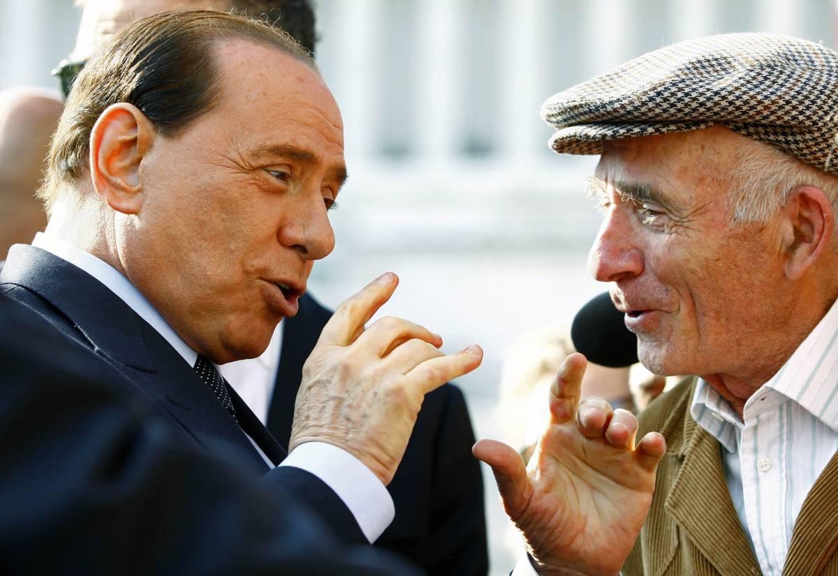 Berlusconi torna in Abruzzo: prime 500 case