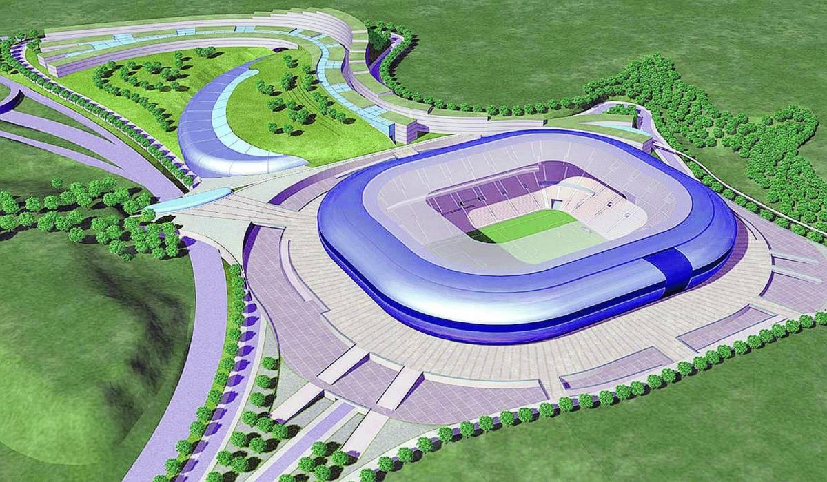 Uno stadio all'inglese con 55mila posti e il museo giallorosso