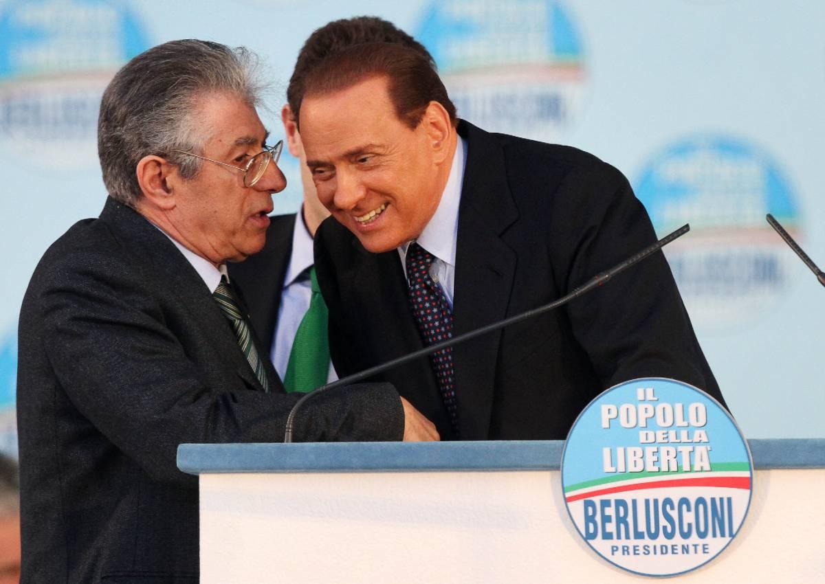Arcore, Bossi sindaco? C'è il no di Berlusconi