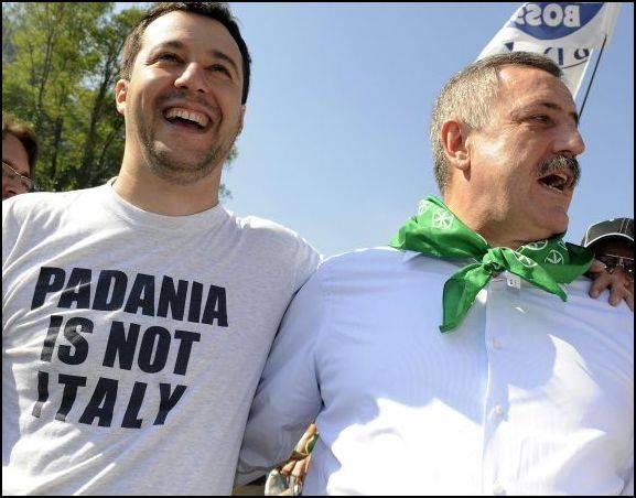 """FareFuturo lancia una provocazione alla Lega:  """"Ora rinunci alla indipendenza della Padania"""""""