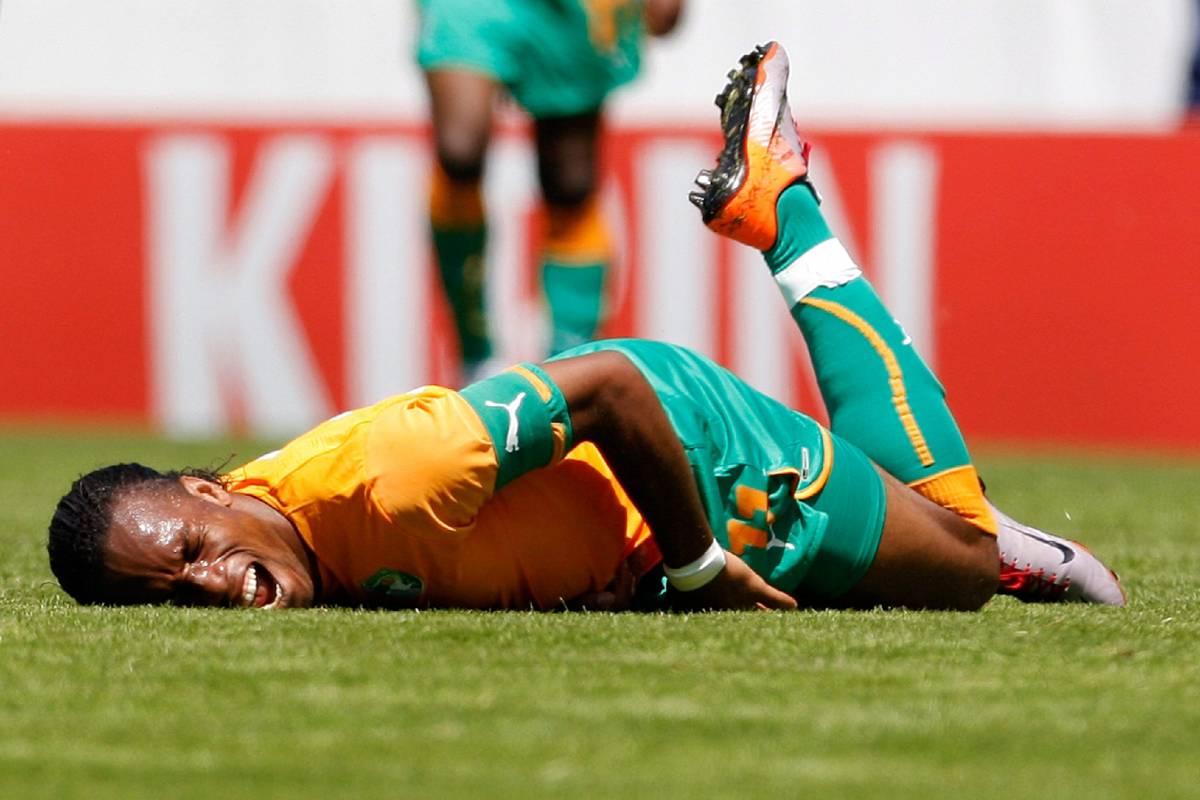 Frattura al braccio per Drogba  Niente Sudafrica per l'ivoriano