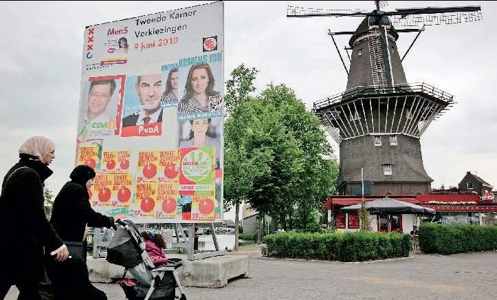 """Soffia un vento di centrodestra   anche tra i """"mulini"""" olandesi"""