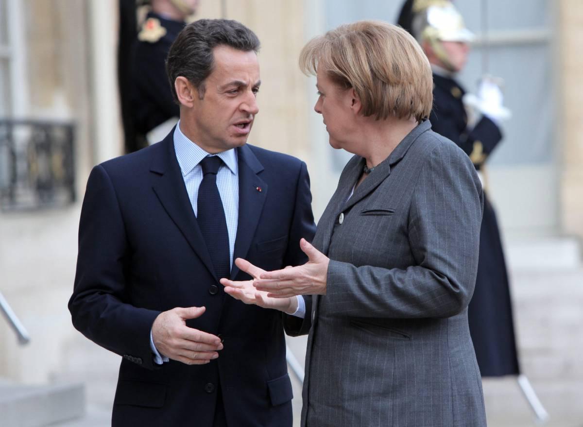 """Lettera Sarkozy-Merkel a Barroso:  """"Proibire le vendite allo scoperto"""""""