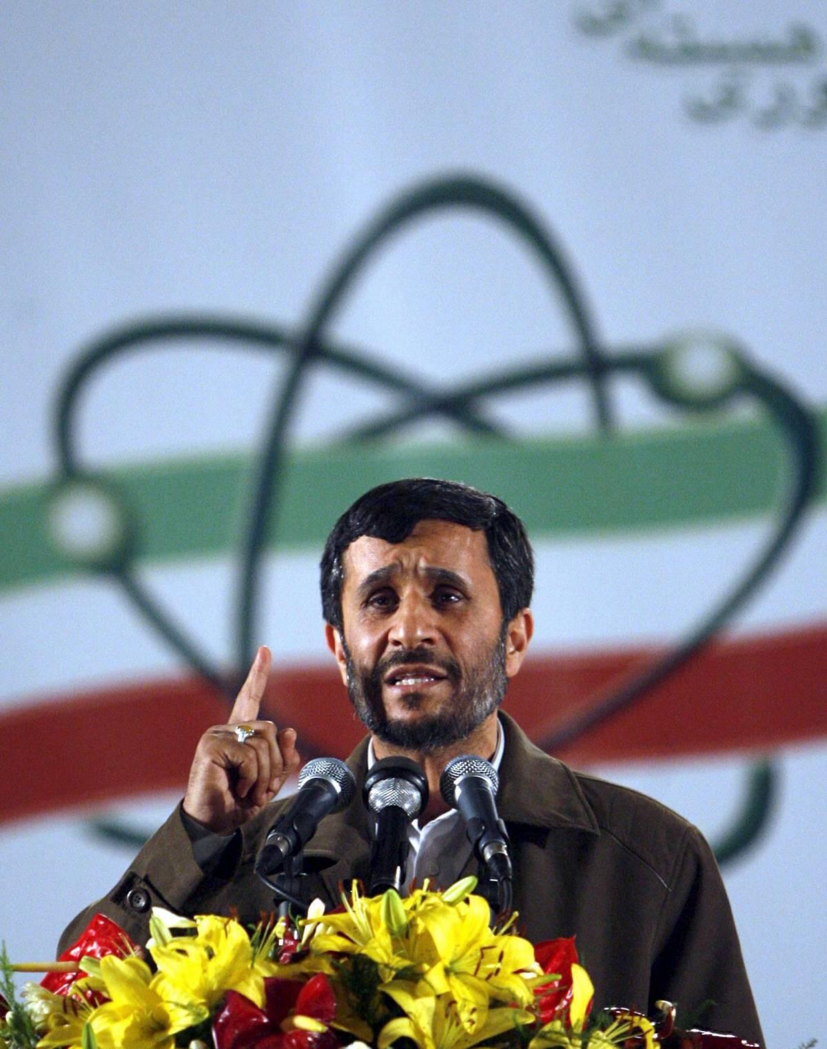 """Nucleare, le sanzioni Onu  per fermare Ahmadinejad  Iran: """"Un passo sbagliato"""""""