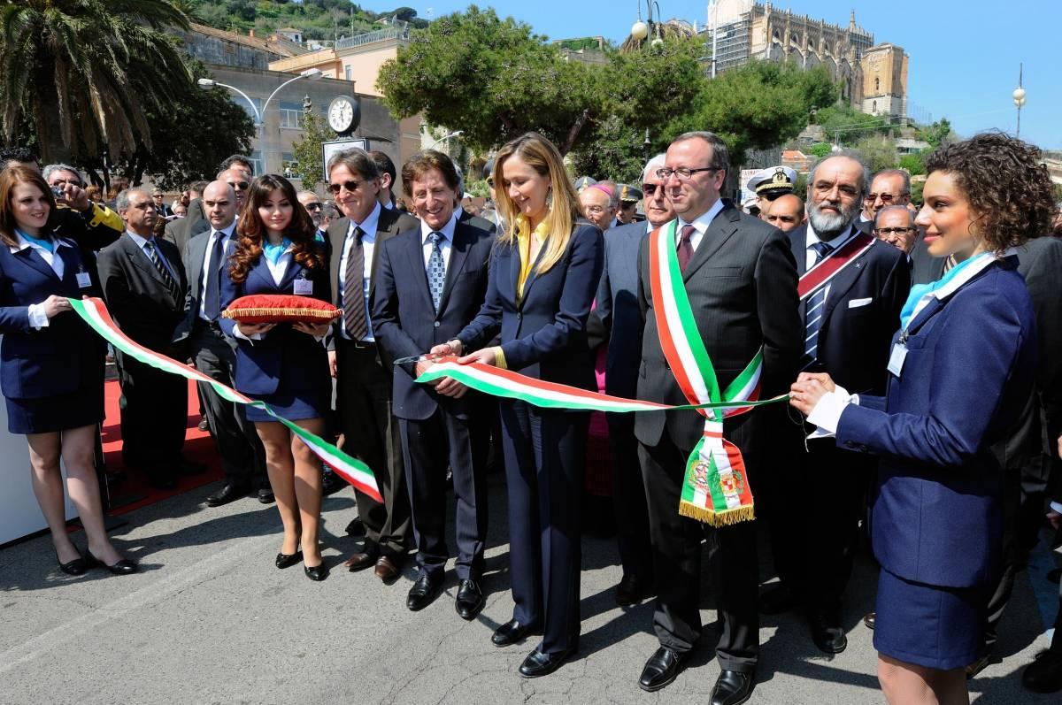 II ministro Prestigiacomo madrina d'eccezione premiata dalla Fondazione Mediterraneo