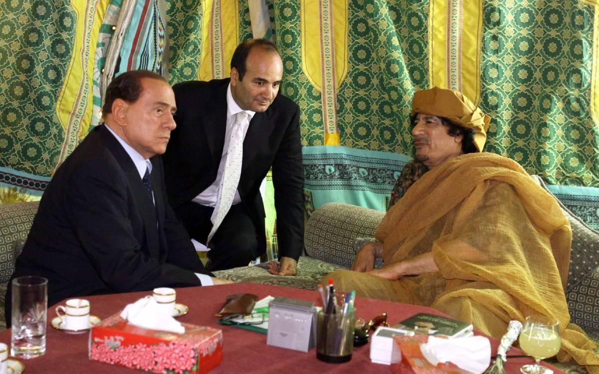 """Goeldi lascia Tripoli, il premier libico:  """"Determinante il ruolo di Berlusconi"""""""