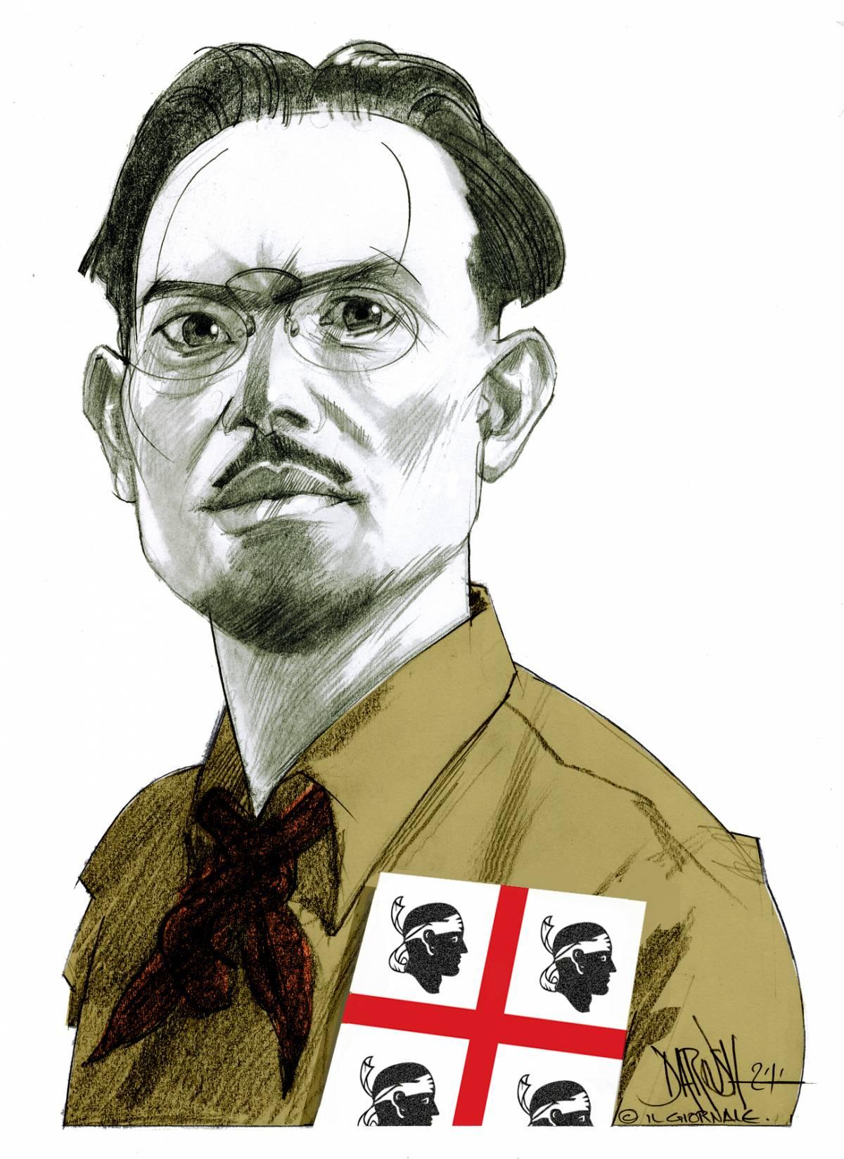 Il capitano Lussu e la rivolta della Sardegna contro l'Italia fascista