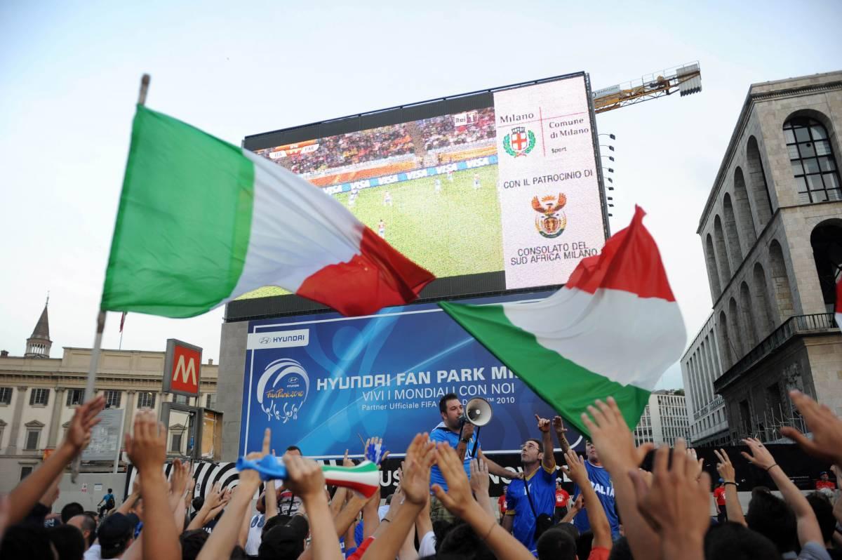 In onda Radio Padania fa il tifo contro gli azzurri  Gli italiani sono inchiodati alla tv: 63,1% di share