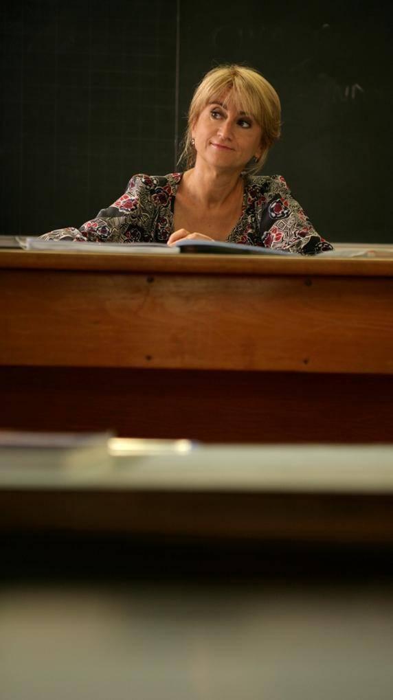 La professoressa Littizzetto in cattedra a Varigotti