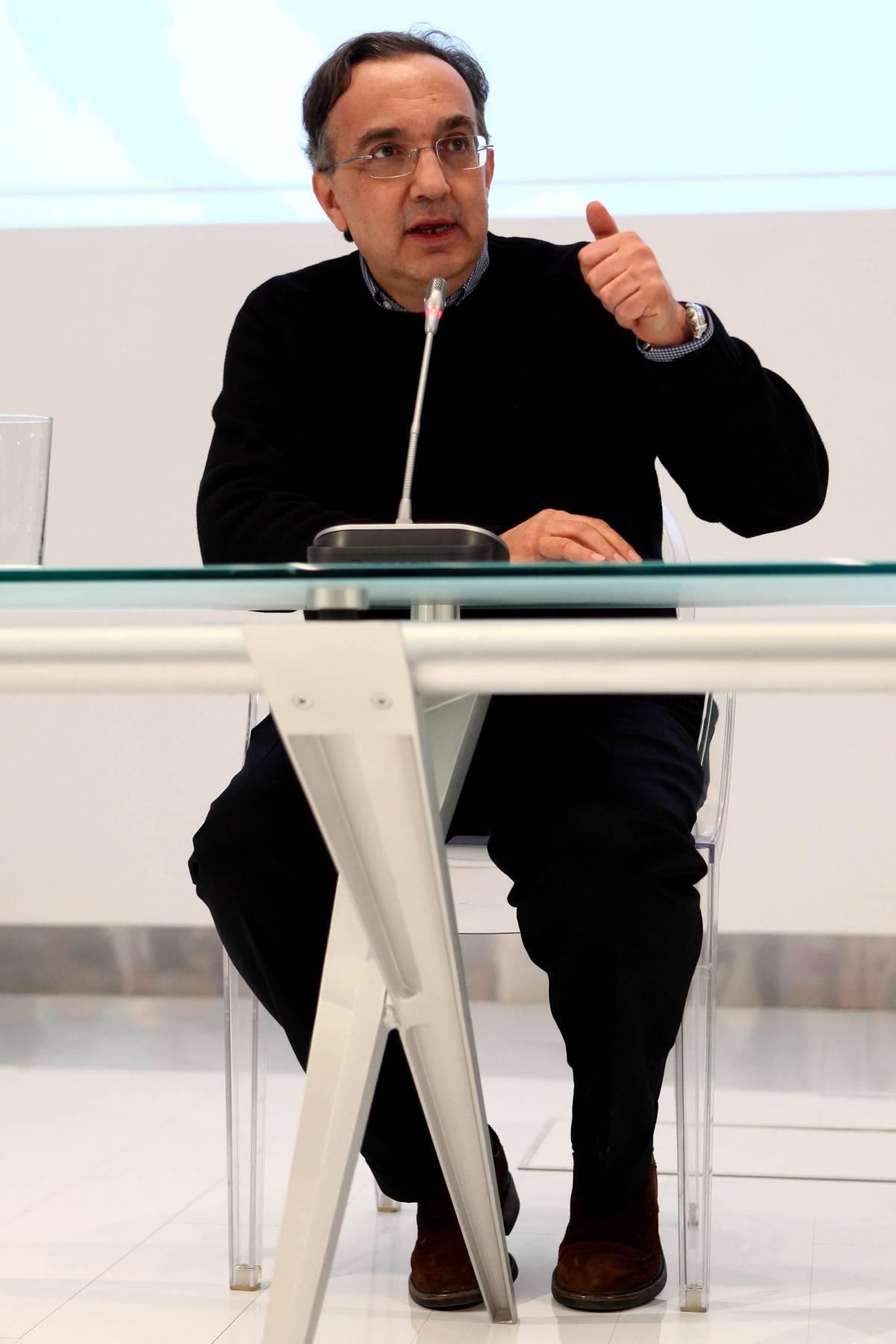 """Pomigliano, Marchionne:  """"Se non c'è l'accordo  si ammazza l'industria"""""""
