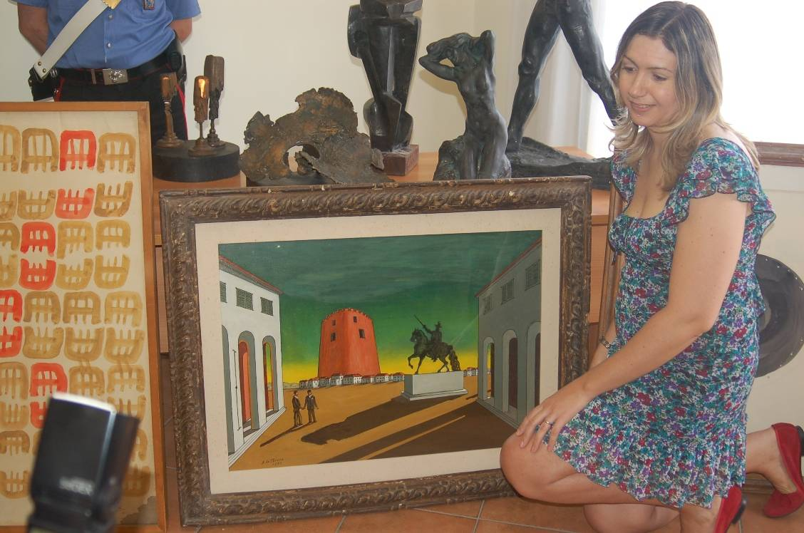 De Chirico, Kandinsky e Fontana:  recuperate tele per oltre 30 milioni