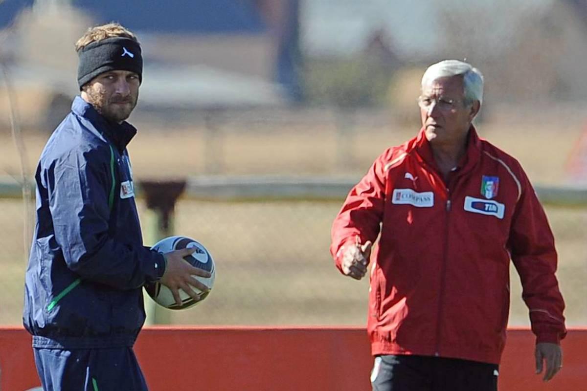Torna l'Italia, oggi Lippi cerca il suo bomber  Adesso in campo Paraguay-Slovacchia: 1-0