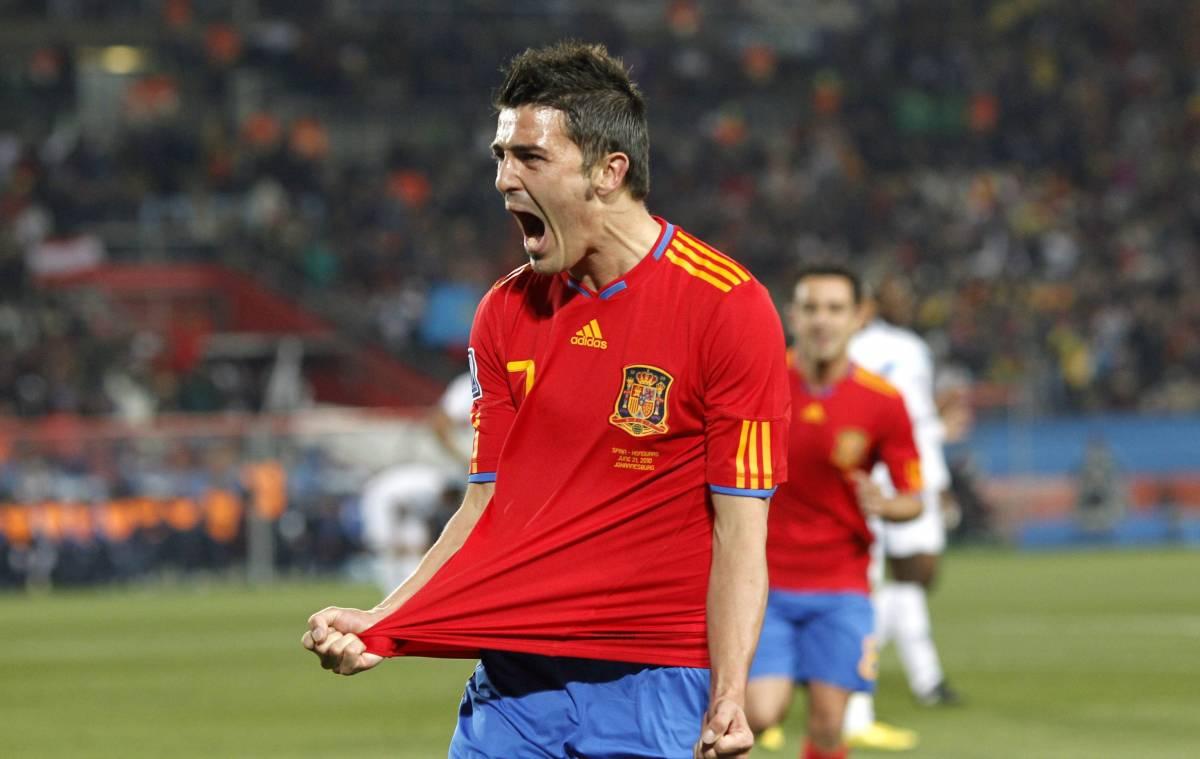 La Spagna si ritrova con l'Honduras  Doppietta di Villa e tanto spettacolo
