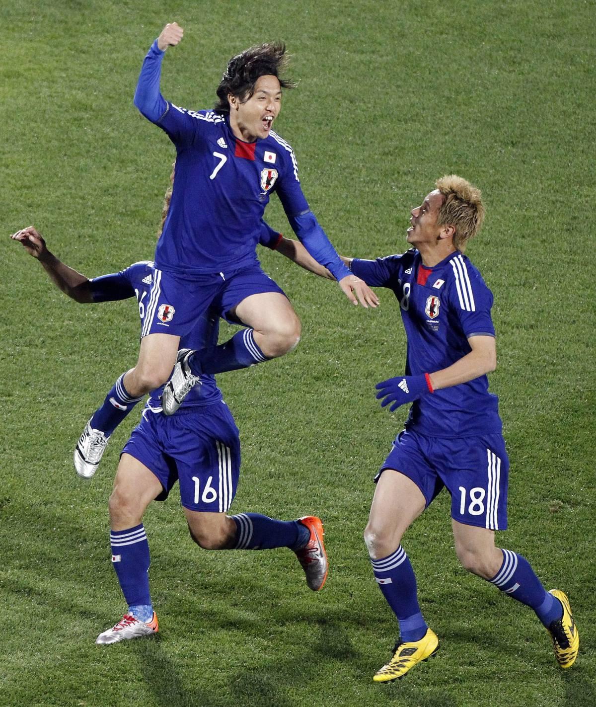 Il Giappone sfreccia con Honda