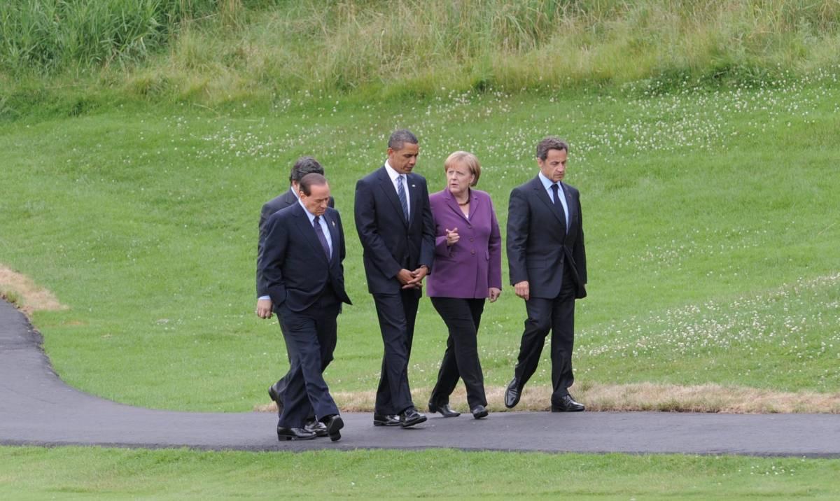 """Vertice G8: """"Ripresa globale ancora fragile""""  Preoccupazione per il nucleare di Teheran"""
