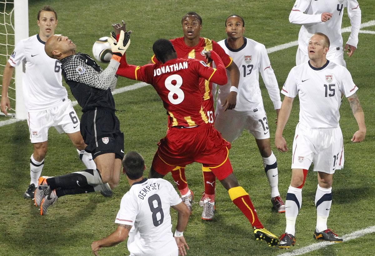 Il Ghana piega gli Usa ai supplementari