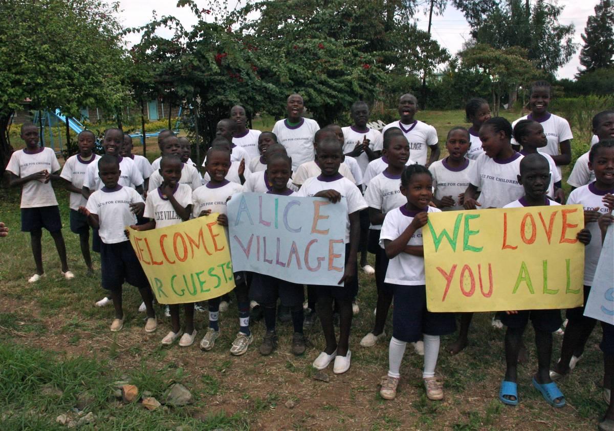 Nairobi, Alice for Children:  l'aiuto dei lettori del Giornale