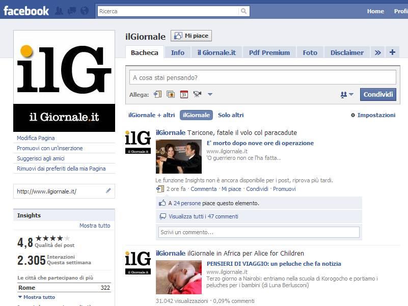 Ciao guerriero, i lettori ricordano Taricone su Facebook