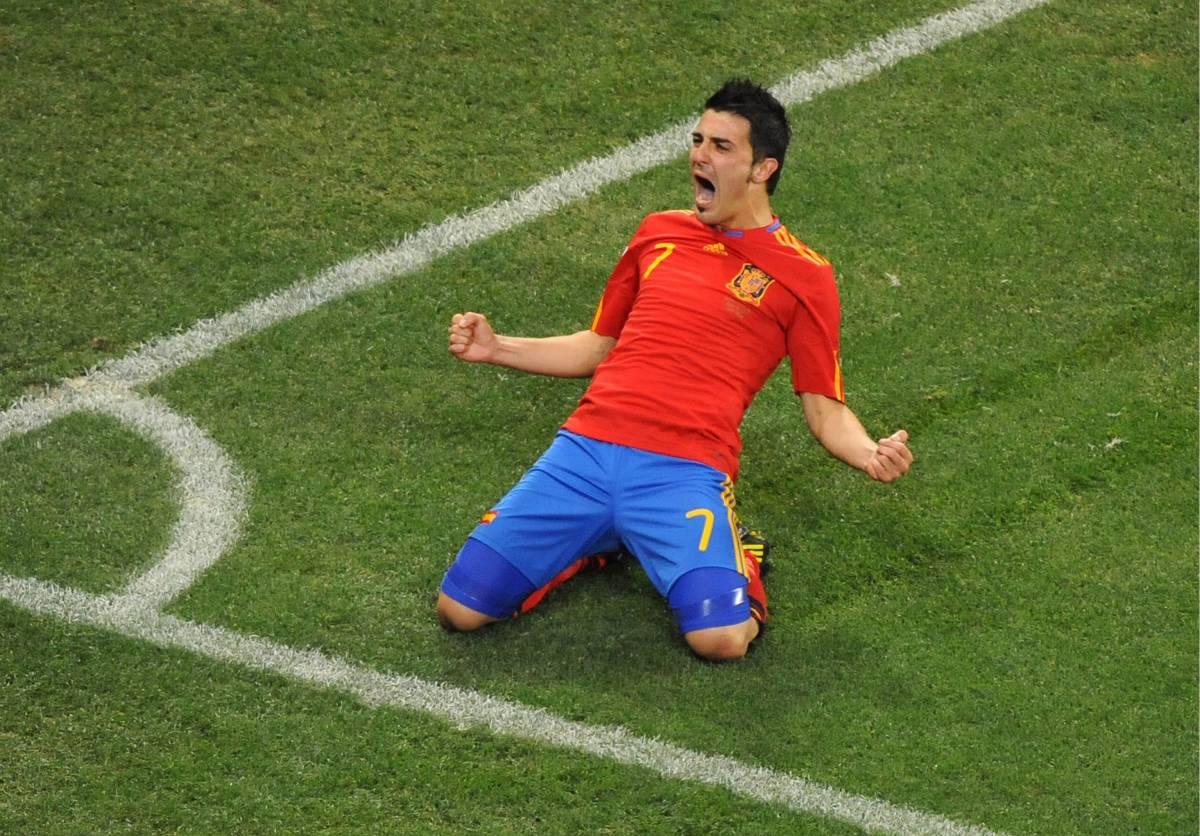 A casa anche Ronaldo Il gol del solito Villa trascina le Furie rosse