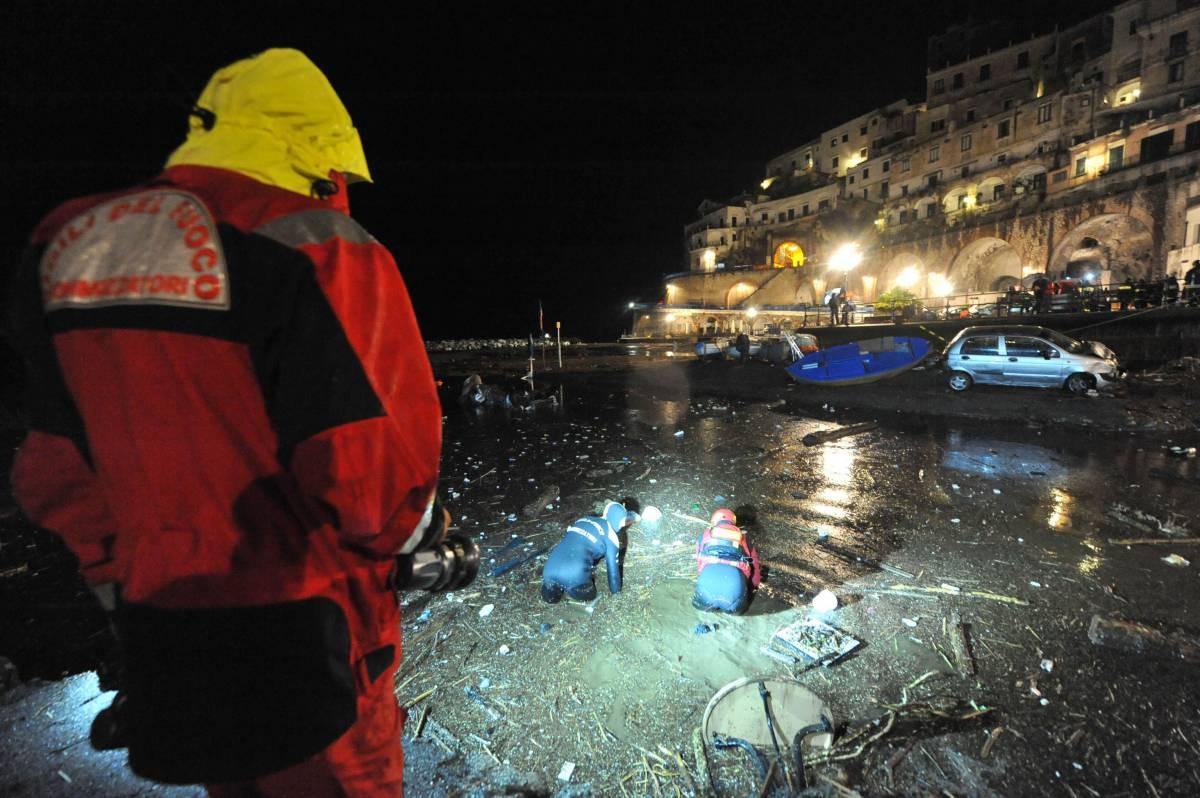 Amalfi, alluvione Atrani:  ritrovato corpo ragazza  nel mare delle isole Eolie