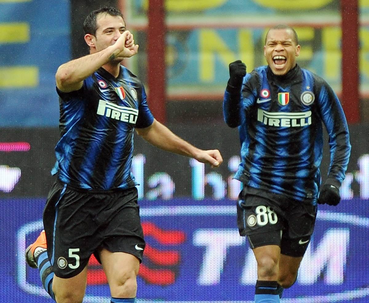 L'Inter travolge il Parma:  tris di un super Stankovic  Lazio pareggia, Napoli ko