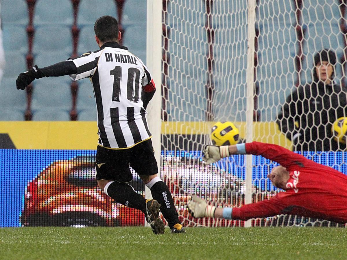 Di Natale cala un tris: l'Udinese il Napoli