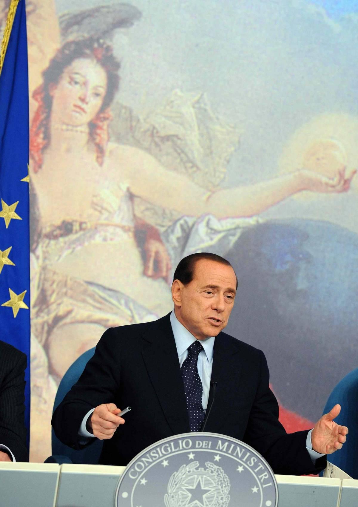"""Wiki-flop: solo gossip  Berlusconi: """"Falsità  Chi paga le ragazze?"""""""