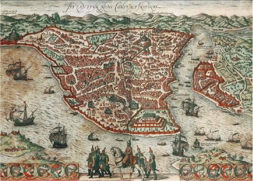 Una mappa per scoprire i segreti di Bisanzio