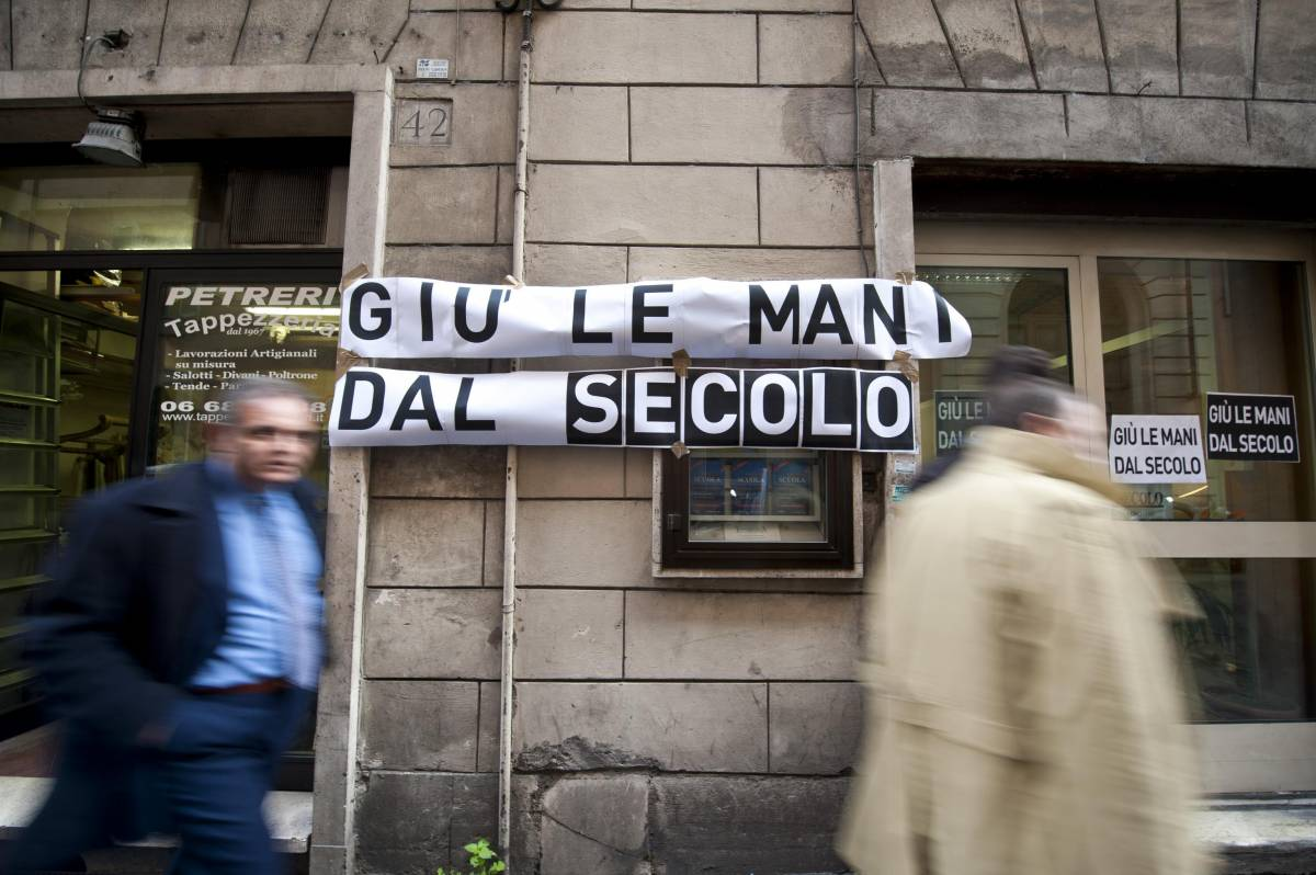 Scherzi e ripicche, i futuristi come i comunisti:  ignoto chiude a chiave il cda del Secolo d'Italia
