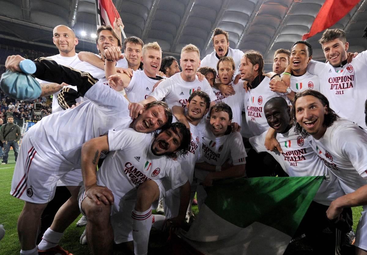 Il Milan prepara la festa per lo scudetto
