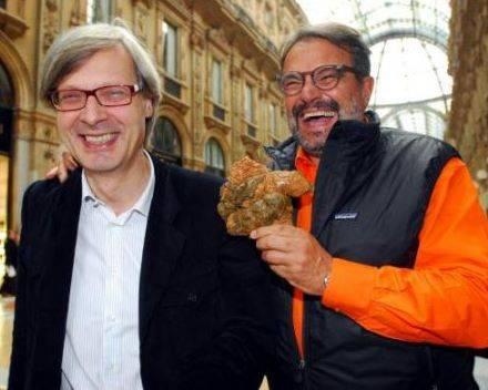 """Gli sms del """"tradimento"""" di Toscani"""