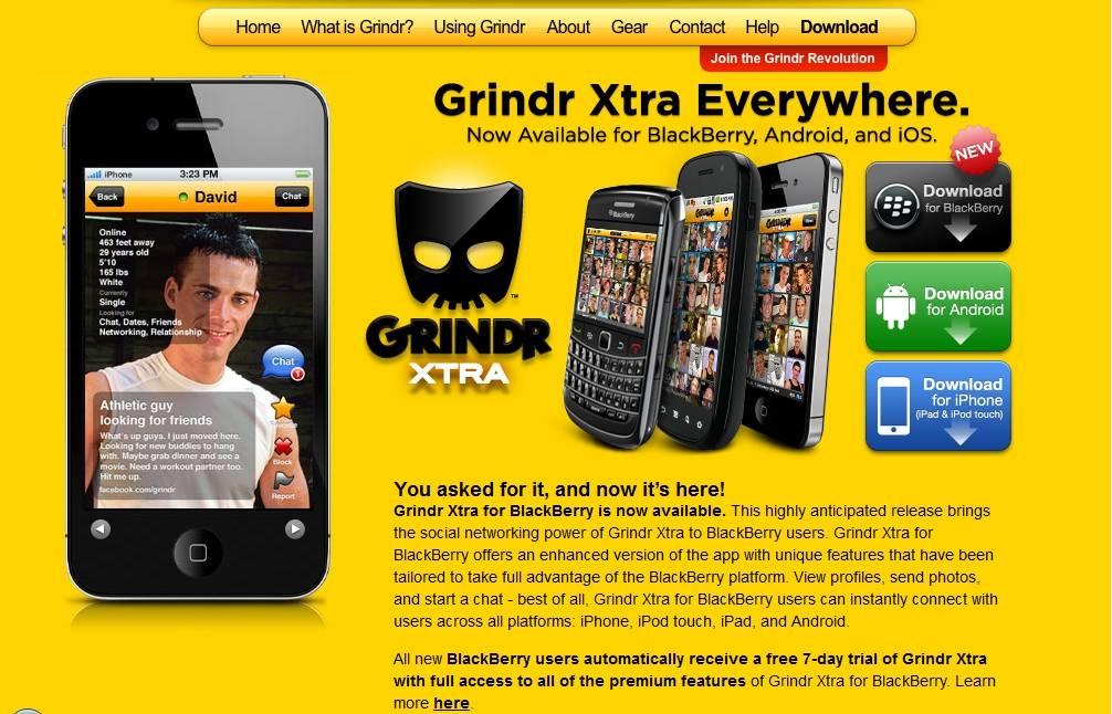 """Spopola Grindr, la nuova """"app"""" per i gay:  un sistema per """"geolocalizzare"""". E' polemica"""