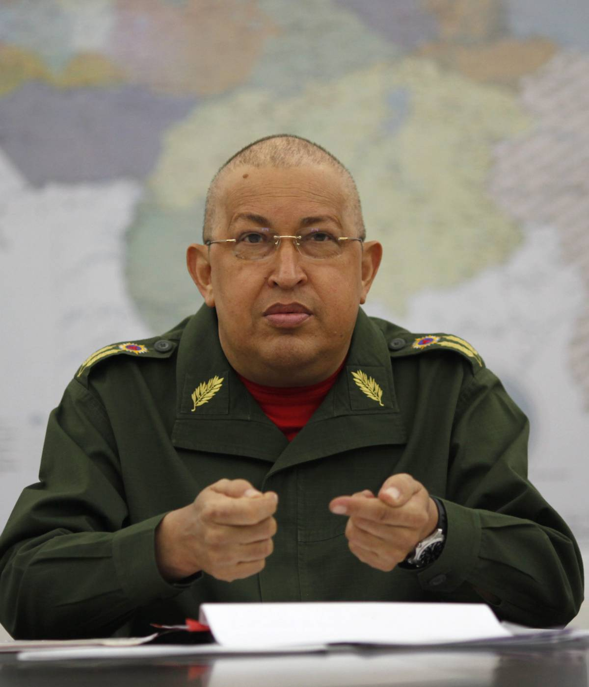 """Chavez torna a Cuba per curare il cancro:   """"Con l'aiuto di Dio potrò andare avanti"""""""