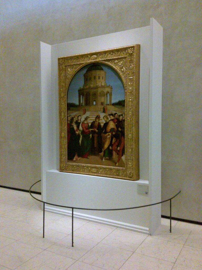 La Pinacoteca di Brera fa acqua da tutte le parti  In salvo lo Sposalizio della Vergine di Raffaello
