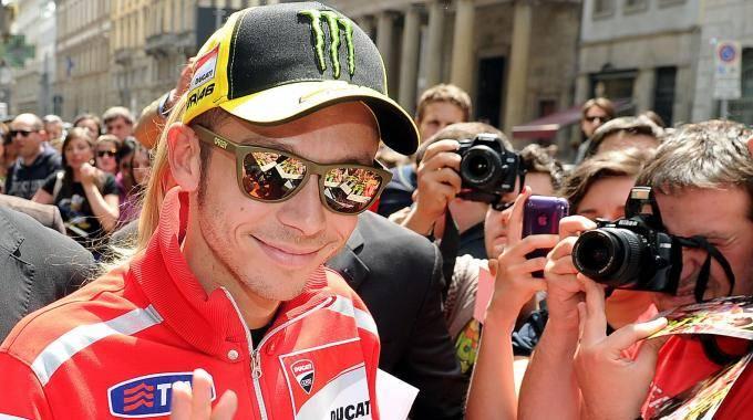 """Londra, Valentino Rossi  questa volta va fuori giri:  """"Io sto con i contestatori"""""""