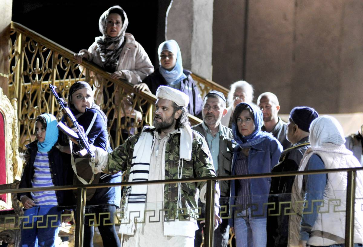 Mosè come Osama,   altri insulti alla fede