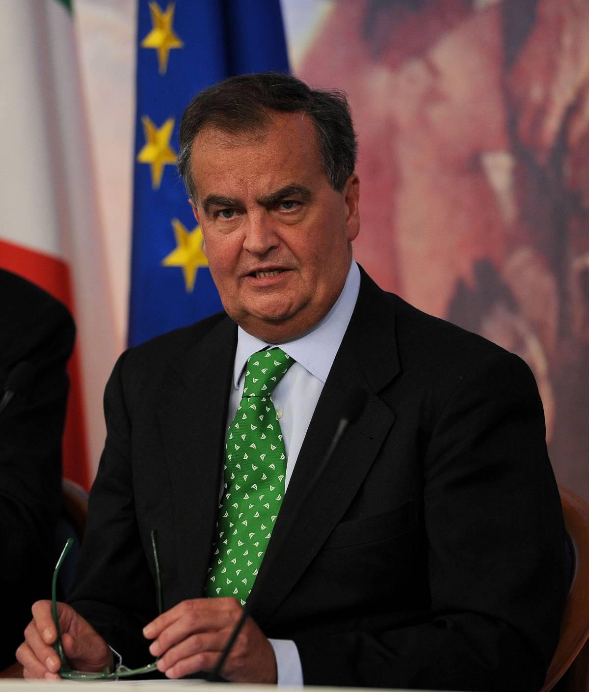 """Calderoli apre a Bersani:  """"La contro manovra?  Se c'è del buono..."""""""