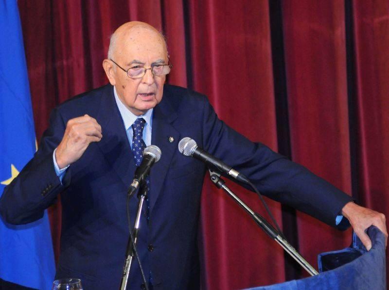 """Napolitano accelera sul debito  """"Lasciarlo è una colpa storica"""""""