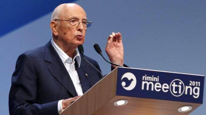 Cl e la strana passione  per l'ex Pci Napolitano