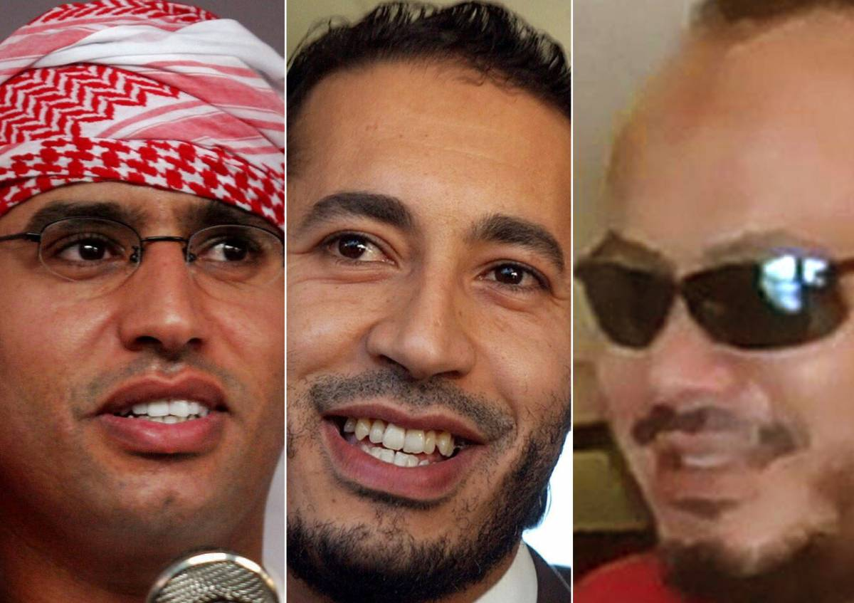 Dal delfino al calciatore, ecco i figli di Gheddafi