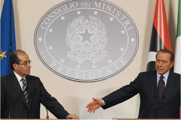 Il colpo di reni dell'Italia  salva l'asse con Tripoli