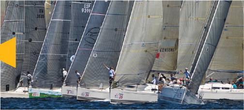 Torna la grande vela nelle acque di Marina di Scarlino