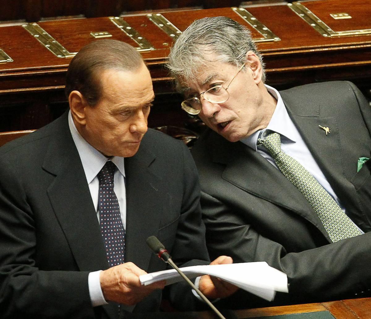"""Ecco la """"nuova"""" manovra  C'è l'intesa tra Berlusconi e Bossi"""