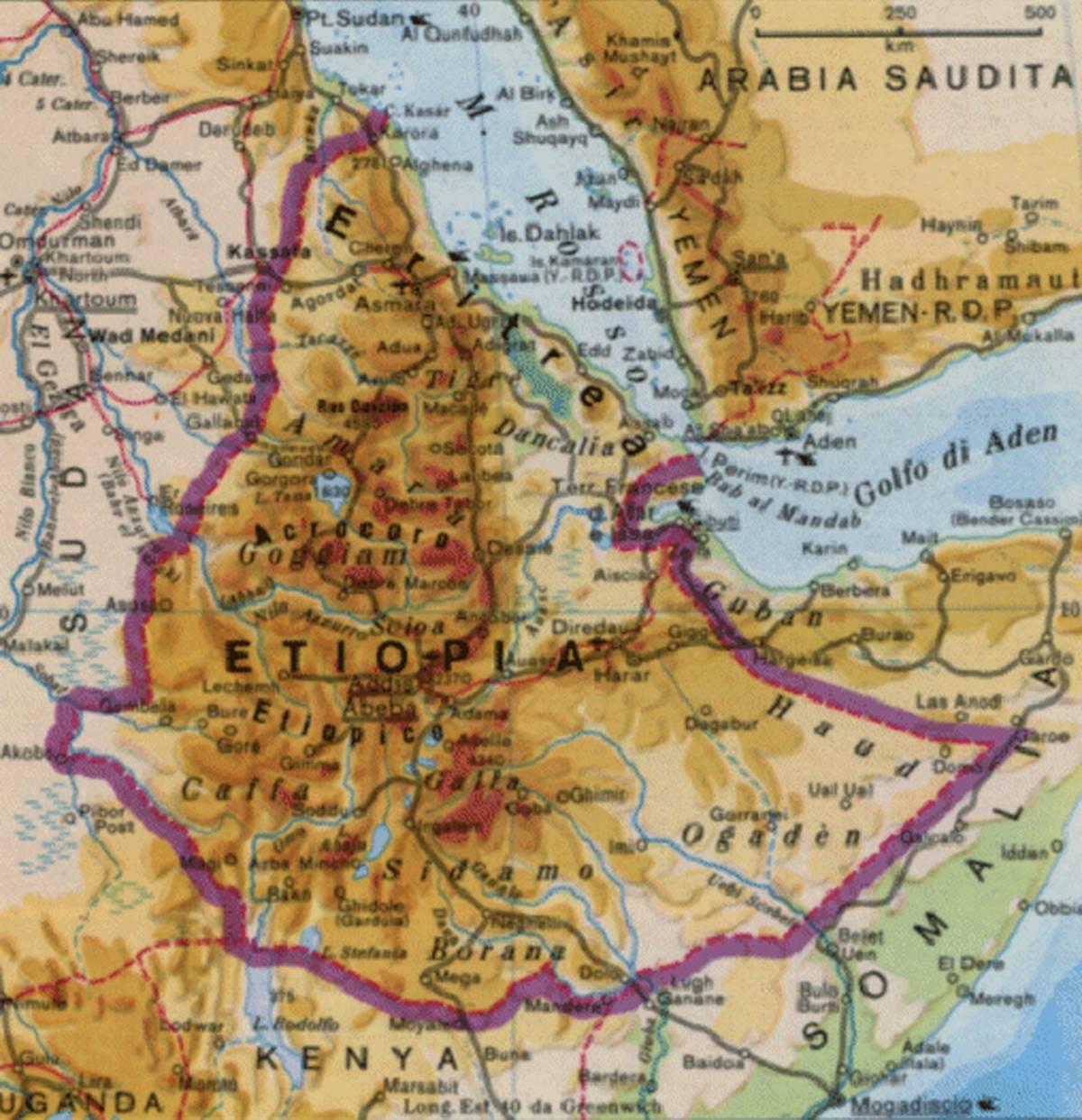 Etiopia, 10 milioni di persone hanno bisogno di aiuti alimentari