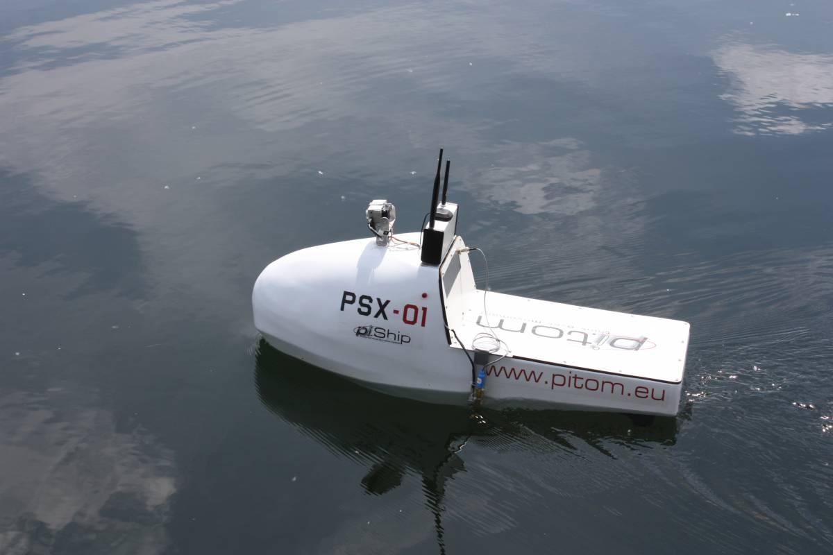 """Varata Pi-Ship la """"barca drone"""" anti inquinamento"""