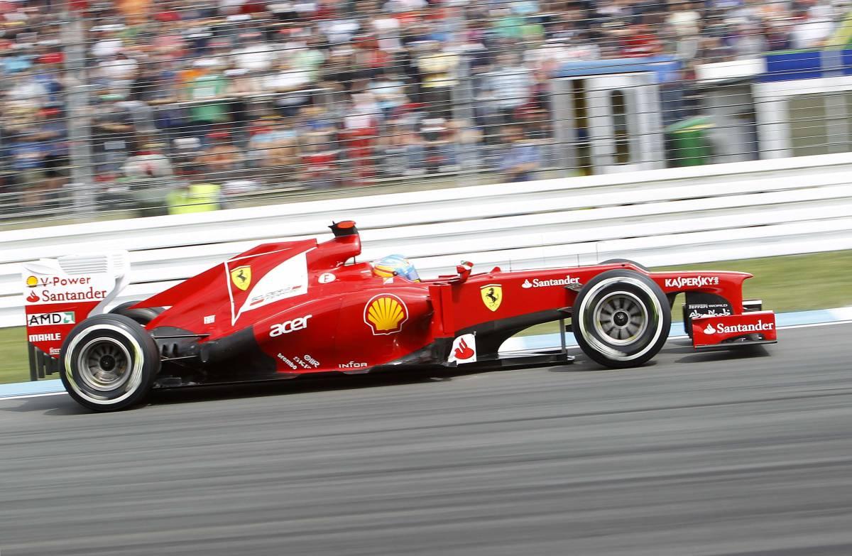 Gp di Germania, Alonso conquista la pole