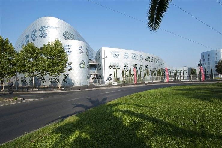 Il liceo di Montpellier progettato da Fuksas