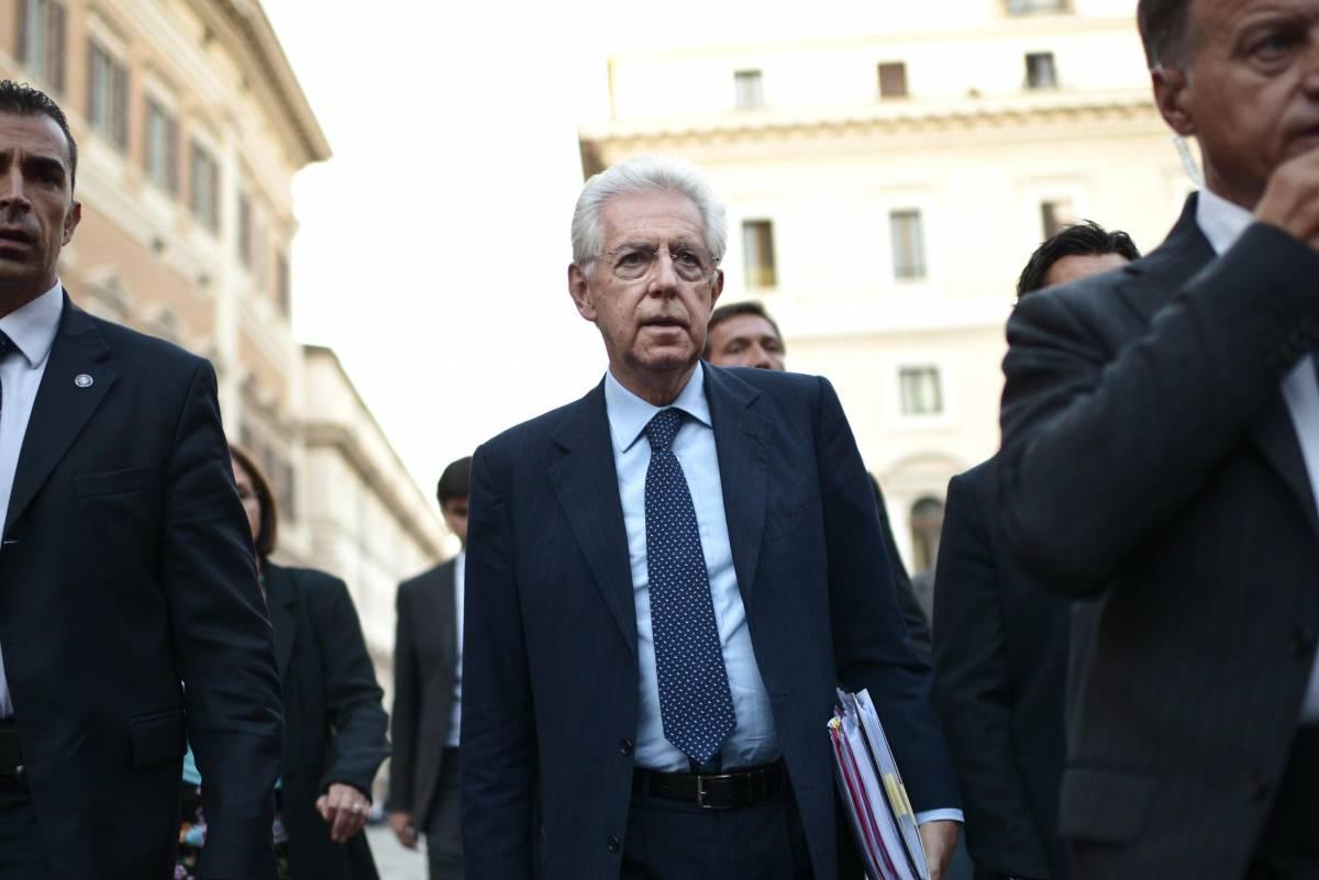 Il piatto indigesto di Monti: tasse record e recessione